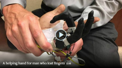 Artificial hand Video