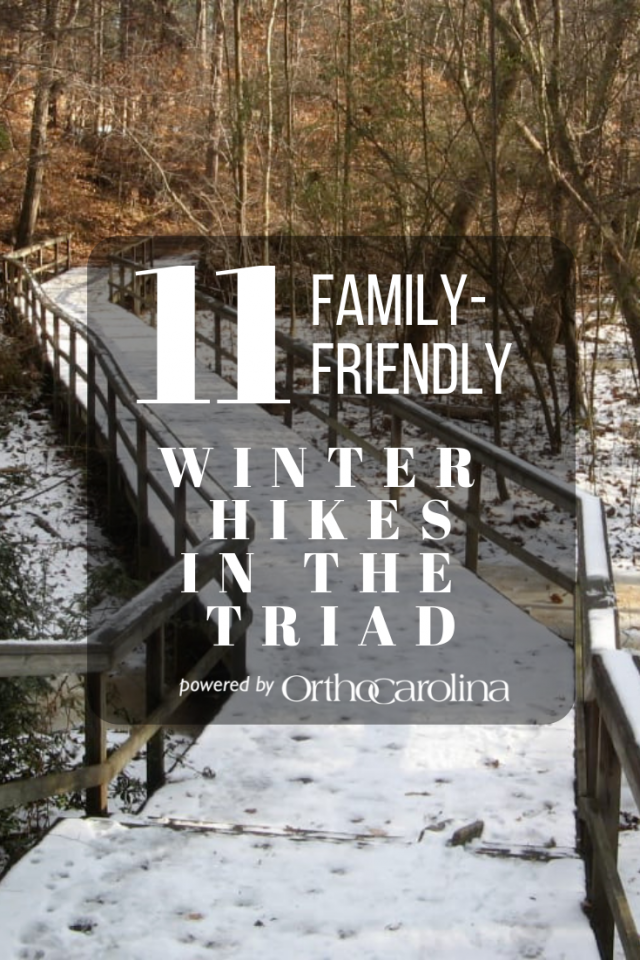 11 Family-Friendly Winter Hikes in the Triad