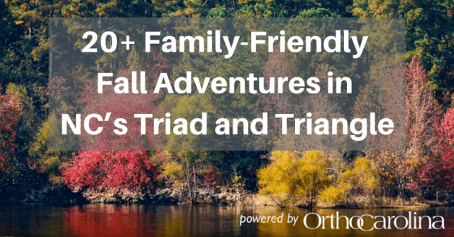 20+ Family Friendly Fall Adventures in North Carolina