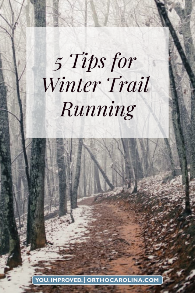 5 Tips for Winter Trail Running