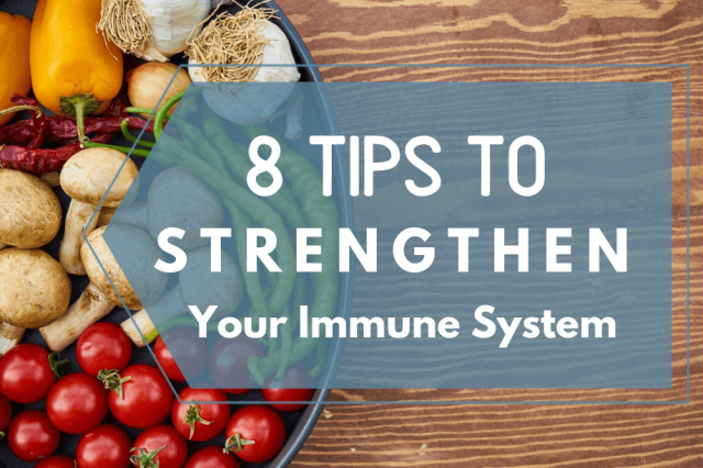 OrthoCarolina Presents: 8 Tips to Strengthen Your Immune System