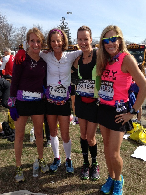 Diane Lancaster and Friends from Marathon race