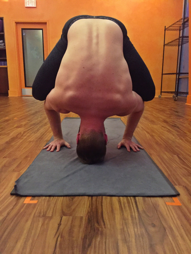 Head Balance Yoga Pose