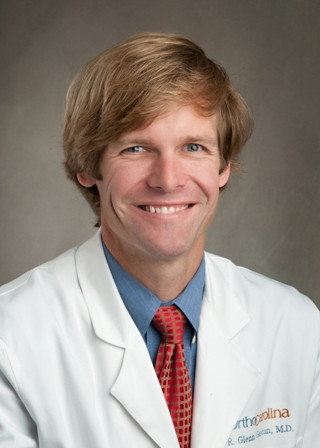 Dr. Glenn Gaston of OrthoCarolina Hand Center