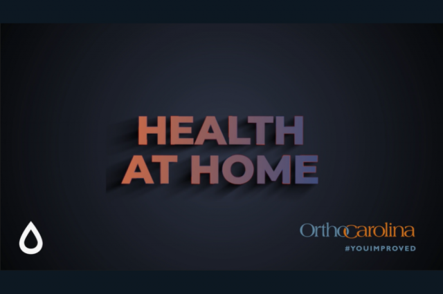 Health at Home from OrthoCarolina partnered with SweatNet Charlotte