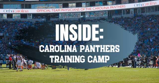 Inside Carolina Panthers Training Camp