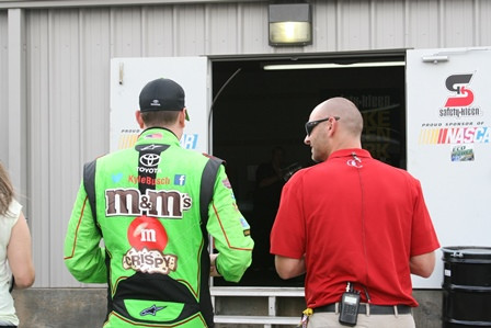 NASCAR champ Kyle Busch's 'natural, steady' recovery started in a minivan