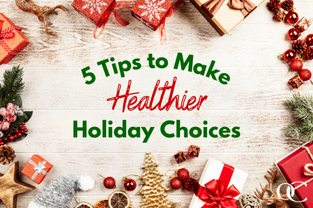 5 Tips to Make Healthier Holiday Choices - OrthoCarolina