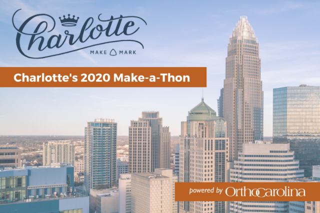 OrthoCarolina Supports Design Marathon Benefiting Local Non-Profits