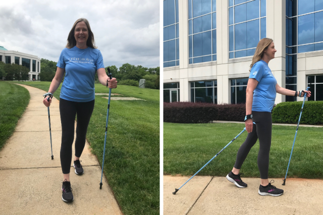 Nordic walking for a full-body workout | OrthoCarolina