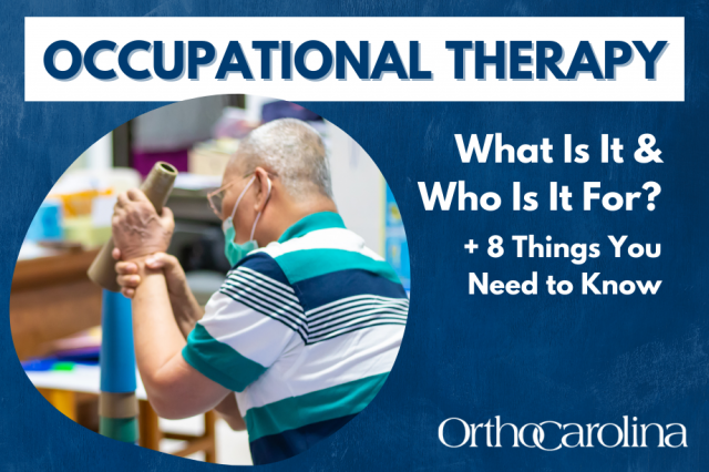 What Is Occupational Therapy & Who Is It For?