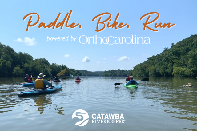 Paddle, Bike, Run – OrthoCarolina & Catawba Riverkeeper Launch Outdoor Event Series