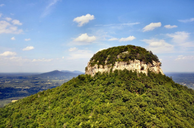 The Story Behind North Carolina's Pilot Mountain State Park