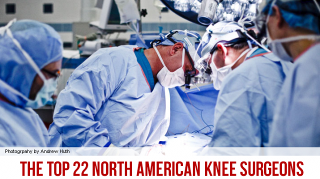 The top 22 American knee surgeons