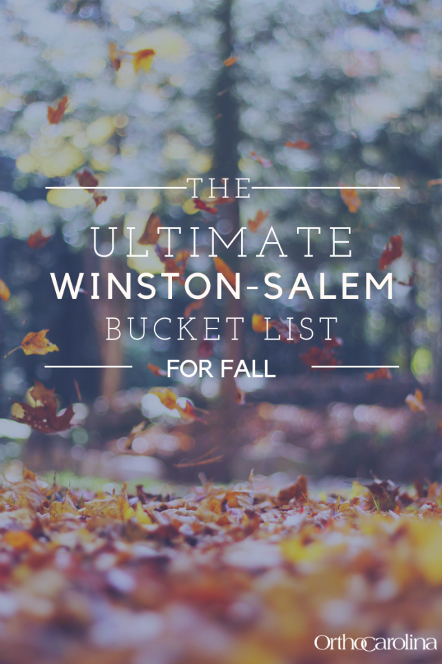 The ultimate Winston-Salem Bucket list for fall