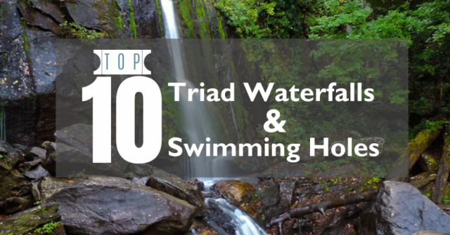 Top 10 Triad Waterfalls & Swimming Holes