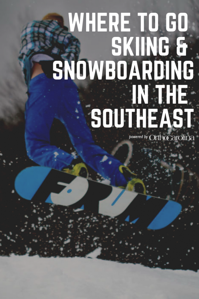 Skiing and Snowboarding OrthoCarolina