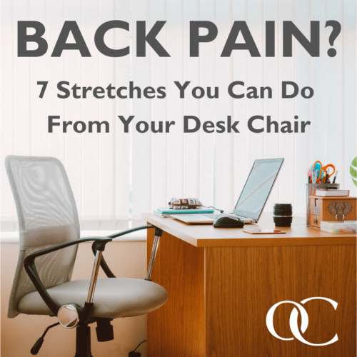 Surprising Back Pain 7 Stretches You Can Do From Your Desk Chair Gmtry Best Dining Table And Chair Ideas Images Gmtryco