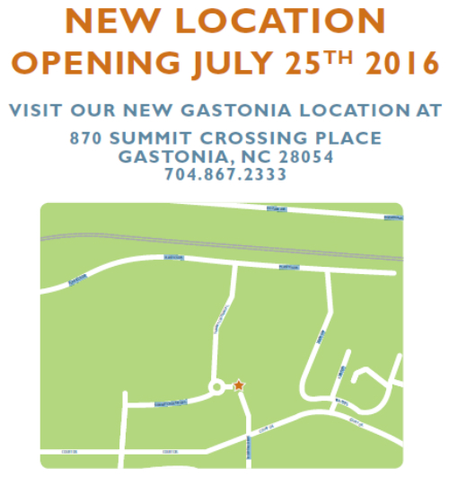 New OrthoCarolina Location