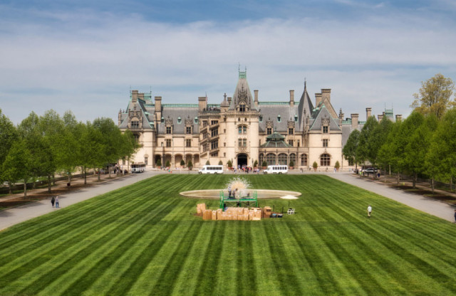 Biltmore Estate in Asheville is home to miles of trails to explore.