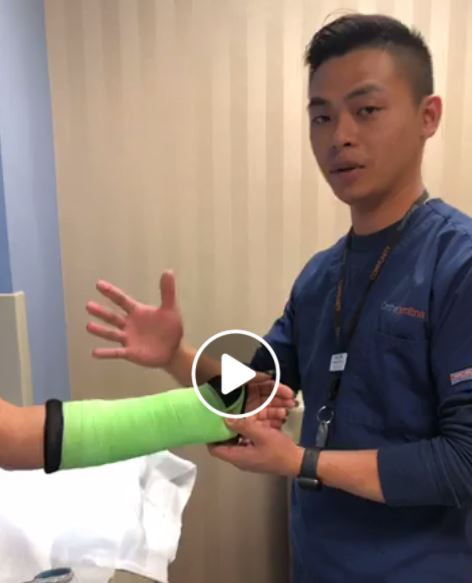 Want to see the cast application and removal process? Certified Medical Assistant Thinh Tran walks you through all the steps on here.