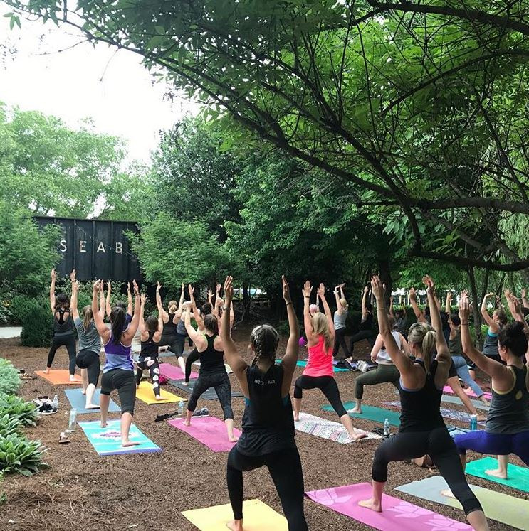 Yoga Bar - McGill Rose Garden