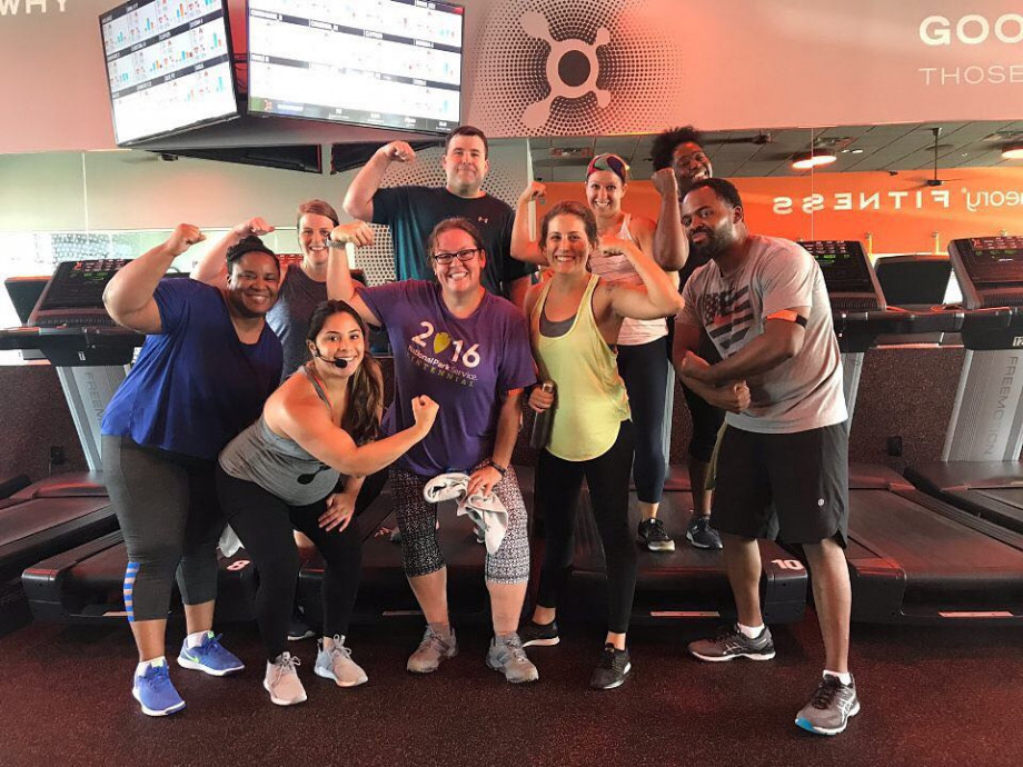 Late onset muscle soreness is to be expected from a workout - but you can also expect to feel accomplished! Photo from Orange Theory Rock Hill