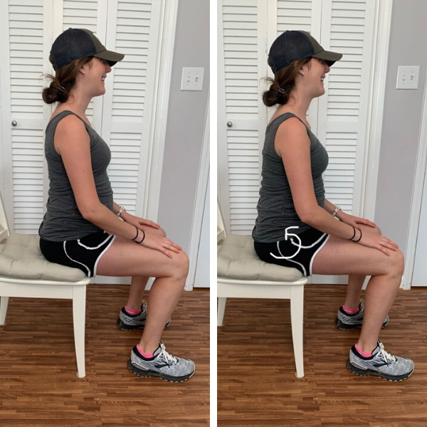safe exercises for back pain during pregnancy seated