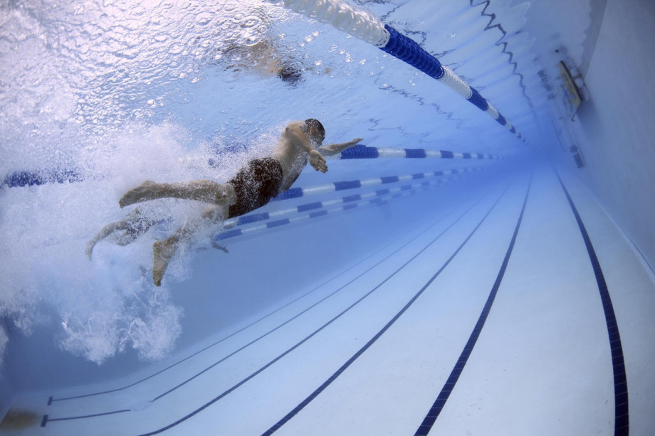 Swimming after an injury can be very beneficial.
