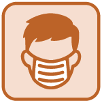 Mask icon | COVID-19 Information Chart | COVID-19 Update