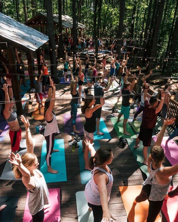Yoga at US National White Water Center